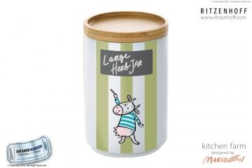 RITZENHOFF Kitchen Farm Large Jar by Marsden