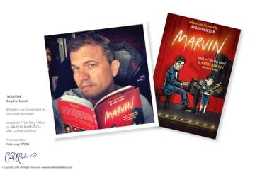 "Graphic Novel ""Marvin"""