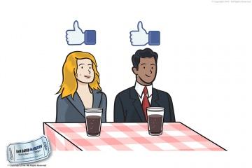 Focus Group Business Illustration
