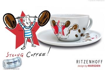 Coffee Love Cappuccino Cup - Man