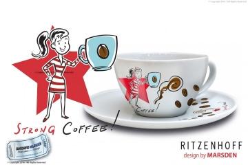 RITZENHOFF Cappuccino Woman  Design