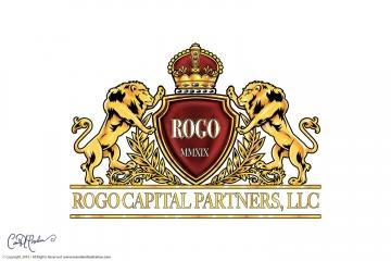 Rogo Capital Partners, LLC Logo and Crest Design