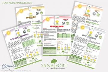 Sanafort Product Sheet Design