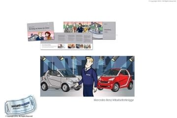 Mitarbeiterknigge for Mercedes Benz