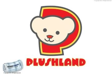 Plushland Los Angeles Logo Design