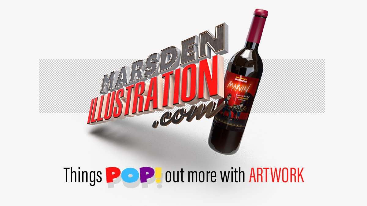 Things pop ot more with artwork