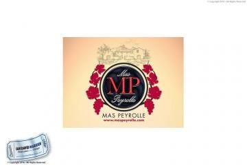 Mas Peyrolle Winery Logo Concept