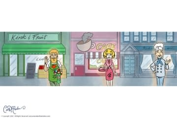 Shopkeepers and Restaurant Avatars