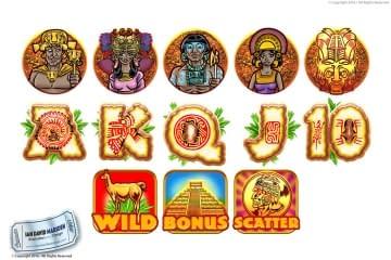 Icon Design for Slotmachine Game