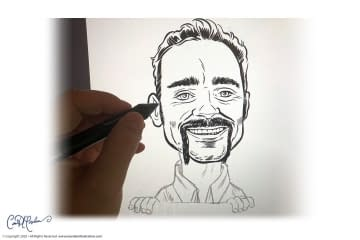 Caricature Portrait from Photograph