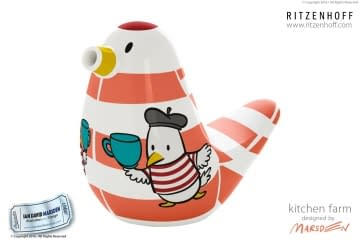 RITZENHOFF Bird Character Design