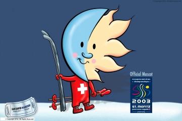 Official Mascot Ski World Championship 2003