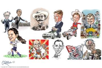 Caricatures fom Photographs