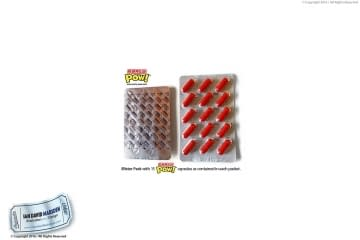 Party POW! Blister Pack front and back