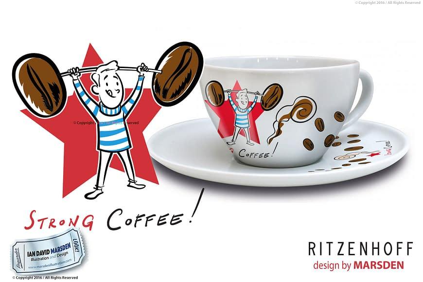 RITZENHOFF Coffee Love Man Cup by Marsden