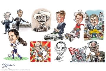 Caricatures from Photographs