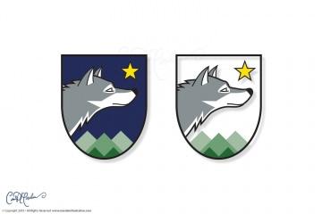 Wolfensberger Logo Crest Color Versions