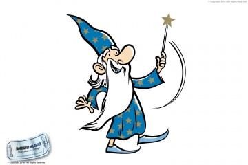 Wizard Vector Character design