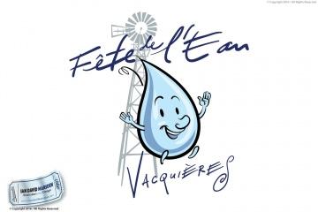 Fete de l'eau Vacquieres Logo