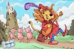 Pig catcher Lion