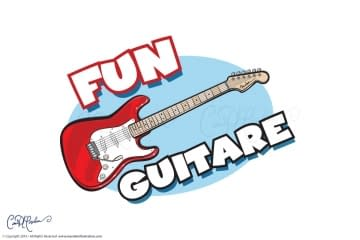 Fun Guitare Logo Design