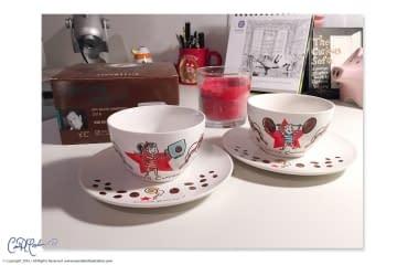 Coffee Love Cappuccino Cups for Ritzenhoff